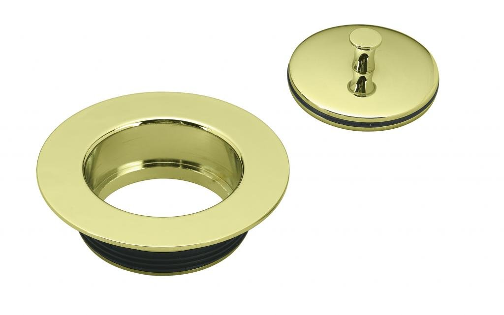 Westbrass D212-01 Replacement Disposal Flange, Polished Brass by Westbrass