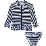 Best SwimZip Bathing suits - SwimZip Little Girl Long Sleeve Rash Guard Set Review