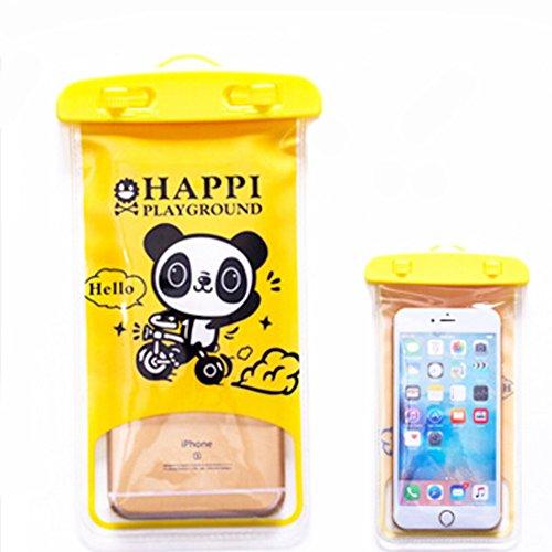 PANDA SUPERSTORE Panda,Etanche étui de téléphoneCellulaire à secSac pochette pour/Tout téléphone