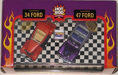 Hot Wheels Collectibles Ford Street Rodder set with display case