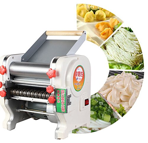 TOPCHANCES 220V Home Commercial Stainless Steel Electric Pasta Press Maker Noodle Machine (50.5 inch) by TOPCHANCES