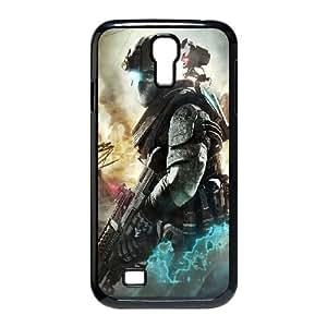 Tom Clancys Ghost Recon Future Soldier 3 funda Samsung Galaxy S4 9500 Negro de la cubierta del teléfono celular de la cubierta del caso funda EVAXLKNBC09475