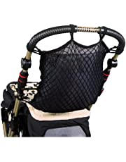 sunnybaby 19275 – inköpsnät, universellt nät för barnvagnar och sportvagnar   med praktiskt insynsskydd/foder   universellt ankarlås – färg: svart   Kvalitet: Tillverkad i Tyskland
