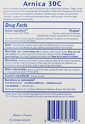 Boiron-Arnica-Montana-1-Pack-of-3-Tubes-30C-Pain-Relief-Medicine