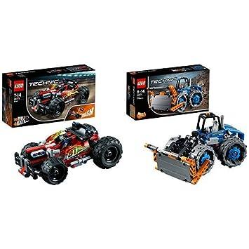 Lego Technic 42073 Rückziehauto Set Für Geübte Baumeister