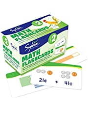 2nd Grade Math Flashcards: 240 Flashcards for Building Better Math Skills (Place Value, Comparisons Rounding, Addition & Subtraction, Fractions, Measurement, Time, Money)