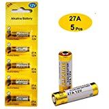 Health & Personal Care : 27A 12V Alkaline Battery (5-Pack)