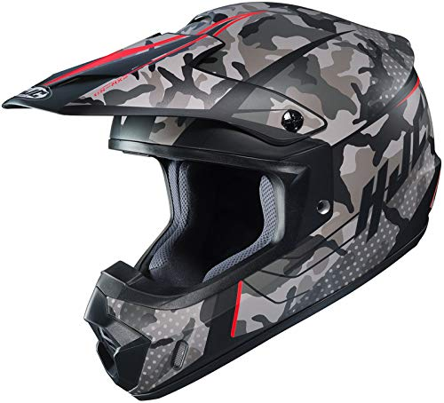 HJC CS-MX II Sapir Off Road Motorcycle Helmet (MC-1SF Grey/Black/Red, XX-Large)