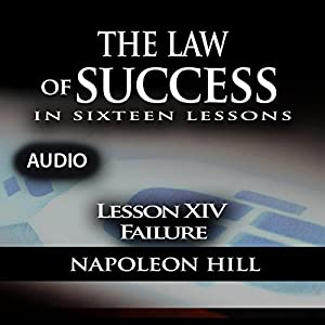 Law of Success, Lesson XIV: Failure Audiobook