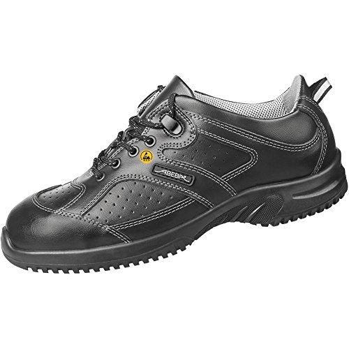 """Abeba dimensione 121,92 cm (48"""") 36731-48-15,24 cm (6"""") ESD Low-Scarpe da lavoro, colore: nero"""