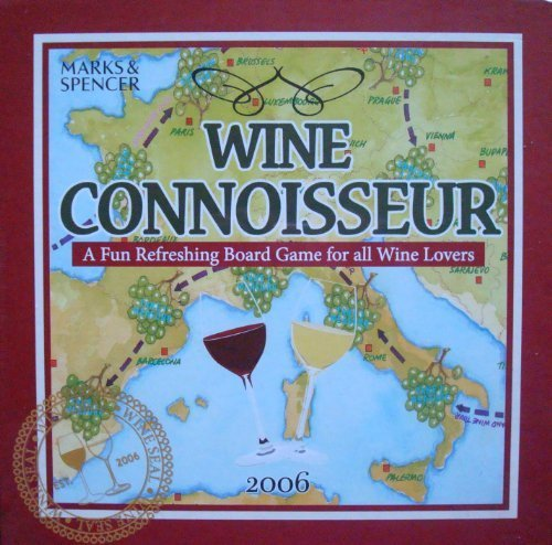 Wine Connoisseur Board Game 2006 by Marks & Spencer
