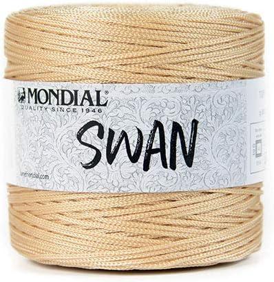 Mondial GOMITOLO 0686 Arancio Filato Swan 100/% Poliestere
