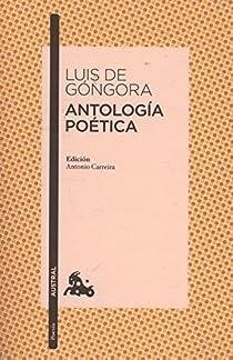 Antología poética par Góngora