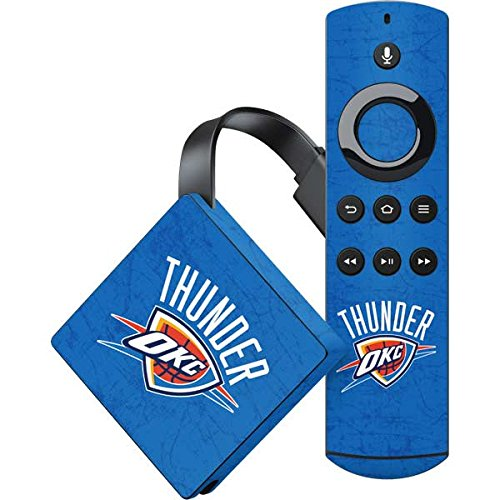 Oklahoma City Thunder Fire TV Skin - Oklahoma City Thunder Primary Logo | NBA X Skinit Skin ()