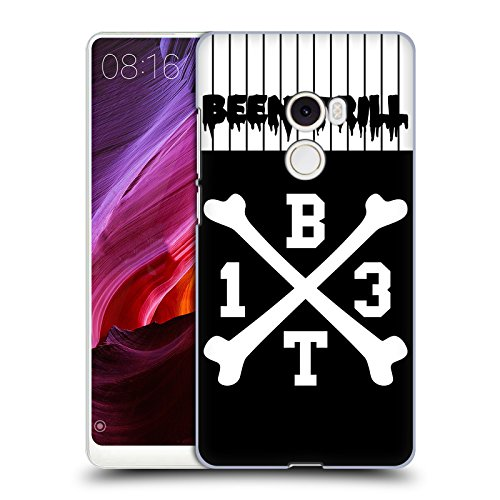 Hc Crossbones Jersey (Official Been Trill Crossbone Jersey Hard Back Case for Xiaomi Mi Mix 2)