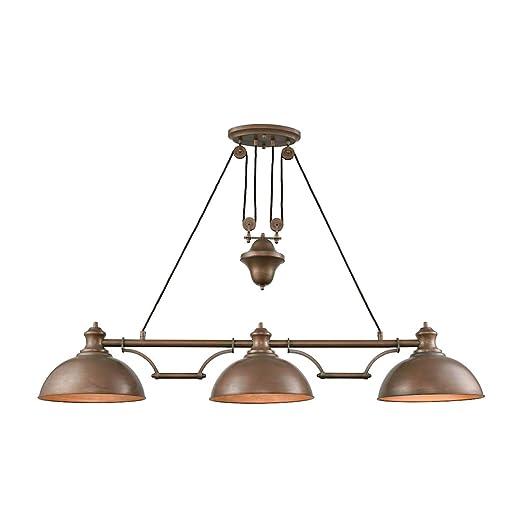 Amazon.com: Bidwell Lighting Hendry II 3 Light - Lámpara de ...
