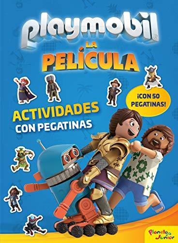 Playmobil. La película. Actividades con pegatinas por Playmobil,Editorial Planeta S. A.