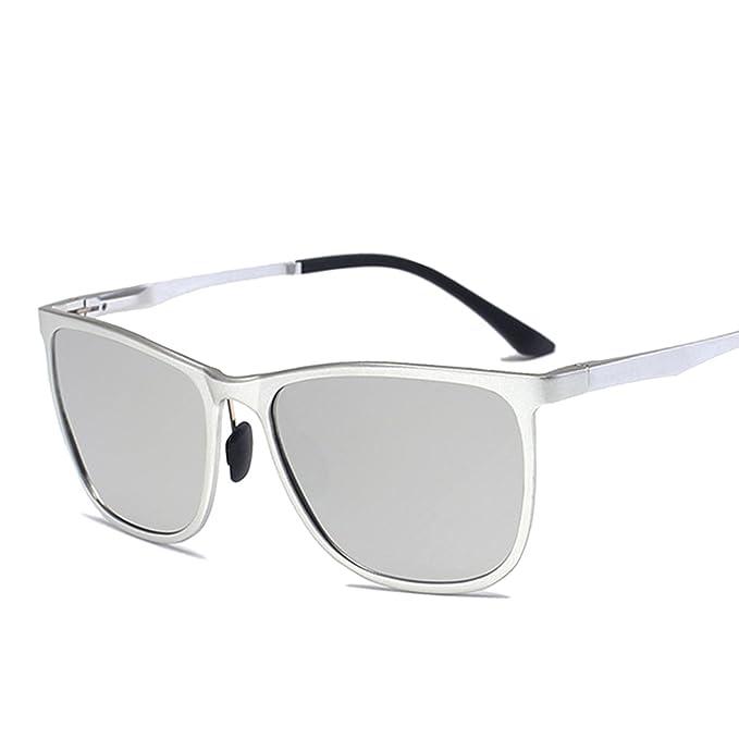 ELITERA Occhiali da sole polarizzati Uomini alluminio in lega di magnesio  E6561 (Argento Argento) cb0cbbb380