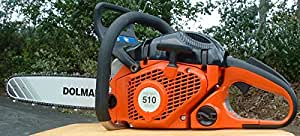 "Dolmar PS510 Chain saw 50cc 18"" Bar 3/8"" pitch"