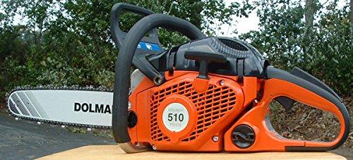 """Dolmar PS510 Chain saw 50cc 18"""" Bar 3/8"""" pitch"""