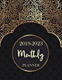 2019 - 2023 Monthly Planner: 60 Months