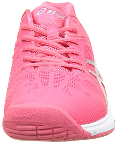 Rouge Asics de Silver para 3 Red White Solution Zapatillas Speed Mujer Tenis Gel Rojo vxw7rAXSqv