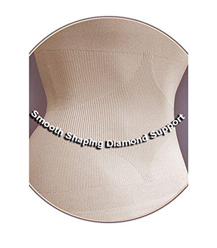 3545fb077 Aha Moment N-fini Women s Lycra Dbl V-Neck Tank Shapewear Wire Free Built-in  Spandex Cup Bra