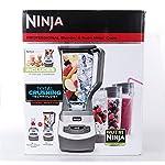 Ninja BL663CO Professional 1100W 72 oz. Total Crushing Blender w/ 3 Nutri Cups