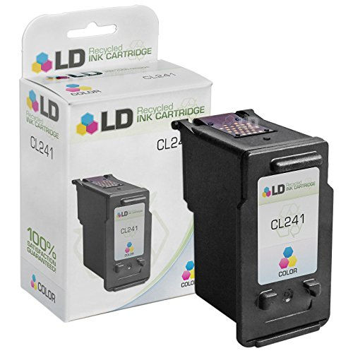 LD © Remanufactured Replacement for Canon 5209B001 (Cl-241) Color Inkjet Cartridge for use in Canon PIXMA MG2120, MG2220, MG3120, MG3122, MG3220, MG3222, MG3520, MG3522, MG4120, MG4220, MX372, MX392, MX432, MX439, MX452, MX459, MX472, MX479, MX512, MX522, and MX532 Printers