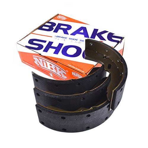 NiBK FN3410 – Noise-Free, Dust-less , Rotor Friendly Premium Ceramic Brake Shoes