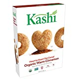 Kashi Heart to Heart, Breakfast Oat Cereal, Organic Warm Cinnamon, Non-GMO Project Verified, 12 oz For Sale