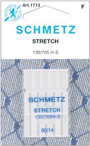 25 Schmetz Stretch Sewing Machine Needles 130/705H H-S Size 90/14 by Schmetz