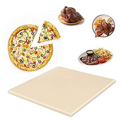 Pizza Stone, Cakie 12x12 Baking Stones for Oven Grill & BBQ ¡