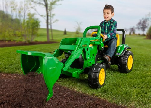 Peg Perego John Deere Front Loader (Power Wheels Tractor compare prices)