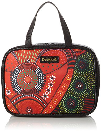 Desigual TRAVEL LLUKA - Beauty Case Donna, Rosso (3074), 24.50x17.50x9.50 cm (B x H x T)
