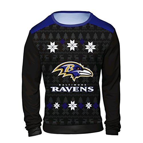 4467bd52ead Baltimore Ravens Ugly Sweaters