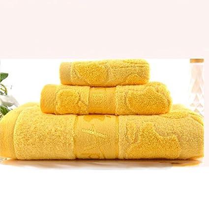 Toallas de baño de bambú de casa textil muebles suave y cómodo de grosor toalla de ...