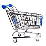 "Restaurantware 1 Count Medium Shopping Cart, 5.5"", Silver"