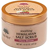 Tree Hut Himalayan Salt Scrub, Cherry Blossom, 15 Ounce