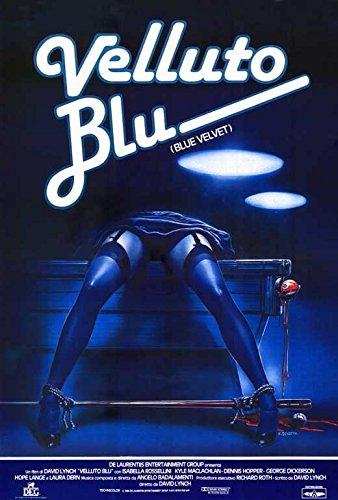 Blue Velvet Poster C Kyle MacLachlan Isabella Rossellini Dennis Hopper