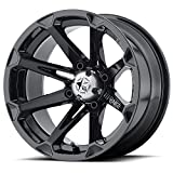 MSA Diesel 14x7 Black Wheel / Rim 4x110 with a 10mm Offset and a 86.00 Hub Bore. Partnumber M12-04710