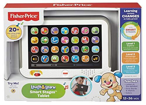 51BLBnhylgL - Fisher-Price Laugh & Learn Smart Stages Tablet