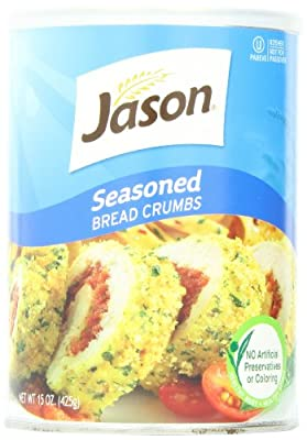 Jason, Seasoned Bread Crumbs, 15oz (Pack of 6)