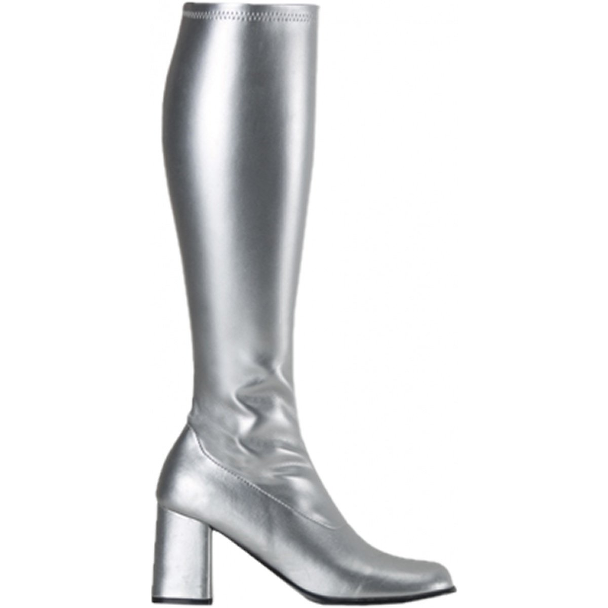 2e4b009c536 Funtasma by Pleaser Women's Gogo-300 Boot Purple Stretch Polyurethane Size  -9