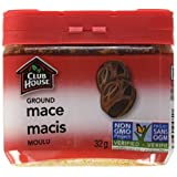 Club House, Quality Natural Herbs & Spices, Ground Mace, Plastic Can, 32g