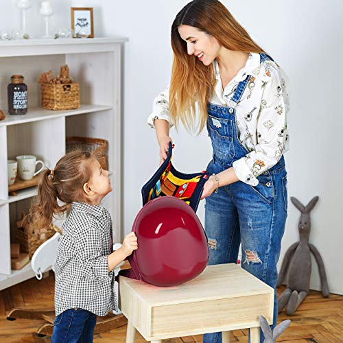 Toddler Busy Board - Montessori Basic Skills Activity Board for Fine Motor Skills & Learn to Dress - Educational Learning Toys for 1 2 3 4 Year Old Toddlers - Sensory Toy for Airplane or Car Travel