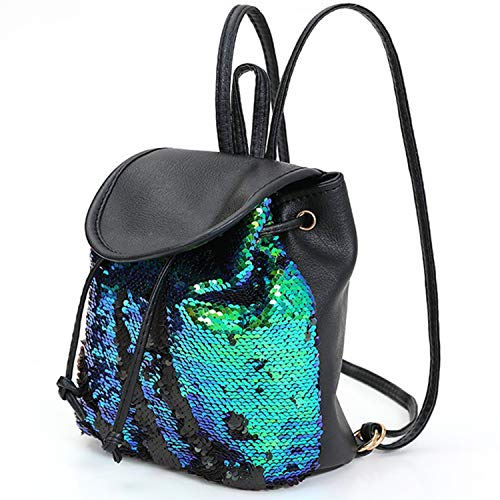 yisi Flip Sequins Mini Backpack Small Backpack Purse for Teen Girls Gift  for School 657cd36413784
