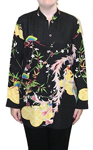 Citron Women's Peacock Soft Garden Wind Jacket (1X) ()