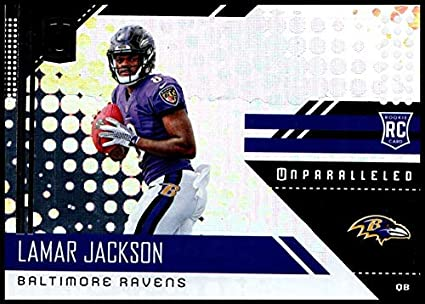 7fe52dd61 Amazon.com  2018 209 Lamar Jackson NM-MT RC Ravens  Collectibles ...