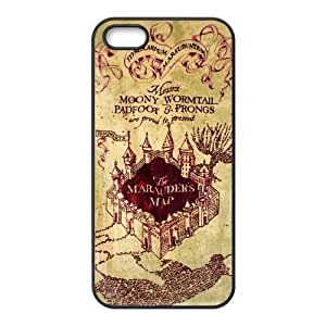 diy zhengAwesome Magic Harry Potter Marauder's Map Rubber Case Cover for Ipod Touch 4 4th